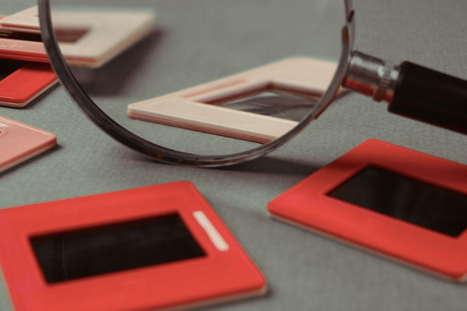 slides to digital